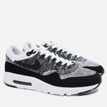 Nike Air Max 1 Ultra Flyknit Men's Sneakers Black/Grey/White photo- 1