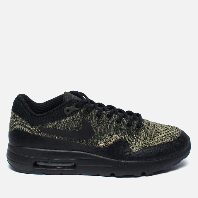 Nike Air Max 1 Ultra Flyknit Men's Sneakers Neutral Olive/Black/Sequoia