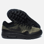 Мужские кроссовки Nike Air Max 1 Ultra Flyknit Neutral Olive/Black/Sequoia фото- 2