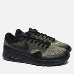 Мужские кроссовки Nike Air Max 1 Ultra Flyknit Neutral Olive/Black/Sequoia фото- 1