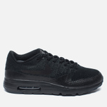 Мужские кроссовки Nike Air Max 1 Ultra Flyknit Triple Black фото- 0
