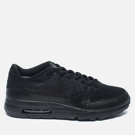 Мужские кроссовки Nike Air Max 1 Ultra Flyknit Triple Black