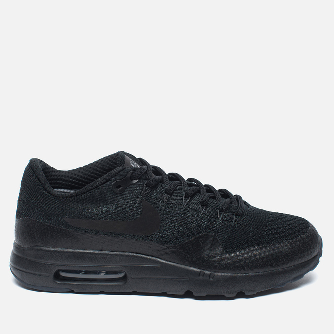 Nike Air Max 1 Ultra Flyknit Men's Sneakers Triple Black