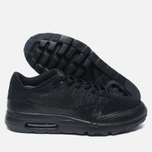 Nike Air Max 1 Ultra Flyknit Men's Sneakers Triple Black photo- 2