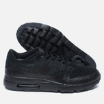 Мужские кроссовки Nike Air Max 1 Ultra Flyknit Triple Black фото- 2