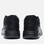 Nike Air Max 1 Ultra Flyknit Men's Sneakers Triple Black photo- 3