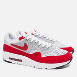 Мужские кроссовки Nike Air Max 1 Ultra Flyknit Varsity Red/White фото- 1