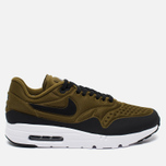 Мужские кроссовки Nike Air Max 1 Ultra SE Black/Olive Flak/White фото- 0