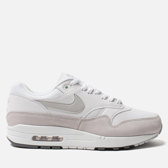 Мужские кроссовки Nike Air Max 1 White/Pure Platinum/Cool Grey