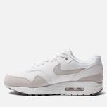 Мужские кроссовки Nike Air Max 1 White/Pure Platinum/Cool Grey фото- 1