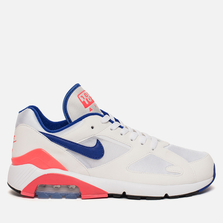 Мужские кроссовки Nike Air Max 180 White/Ultramarine/Solar Red/Black