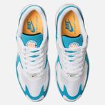 Мужские кроссовки Nike Air Max 2 Light White/Black/Blue Lagoon/Laser Orange фото- 5