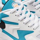 Мужские кроссовки Nike Air Max 2 Light White/Black/Blue Lagoon/Laser Orange фото- 6