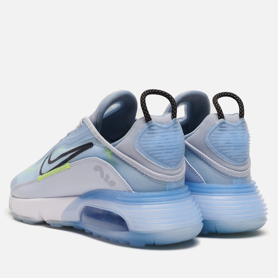Мужские кроссовки Nike Air Max 2090 Ice Blue/Black/Laser Orange/White