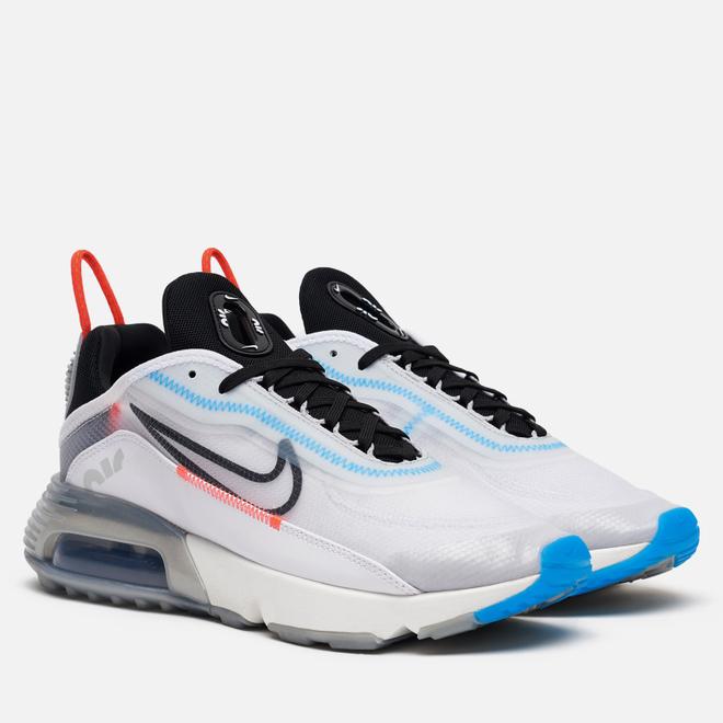 Мужские кроссовки Nike Air Max 2090 White/Black/Pure Platinum/Bright Crimson