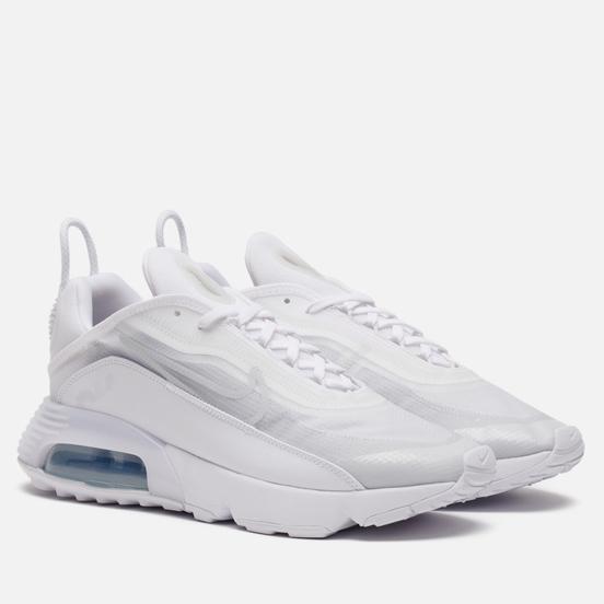 Мужские кроссовки Nike Air Max 2090 White/White/Wolf Grey/Pure Platinum