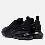Мужские кроссовки Nike Air Max 270 Black/Black/Black фото- 2