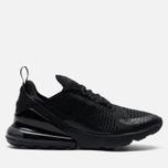 Мужские кроссовки Nike Air Max 270 Black/Black/Black фото- 3