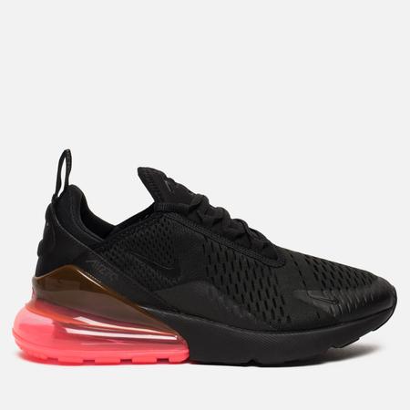 Мужские кроссовки Nike Air Max 270 Black/Black/Hot Punch