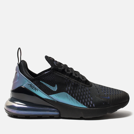 Мужские кроссовки Nike Air Max 270 Black/Laser Fuchsia/Regency Purple