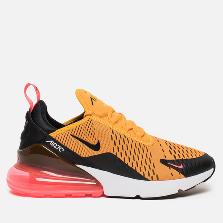 Мужские кроссовки Nike Air Max 270 Black/University Gold/Hot Punch/White