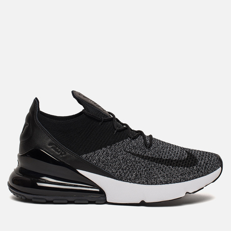 Мужские кроссовки Nike Air Max 270 Flyknit Black/Black/White