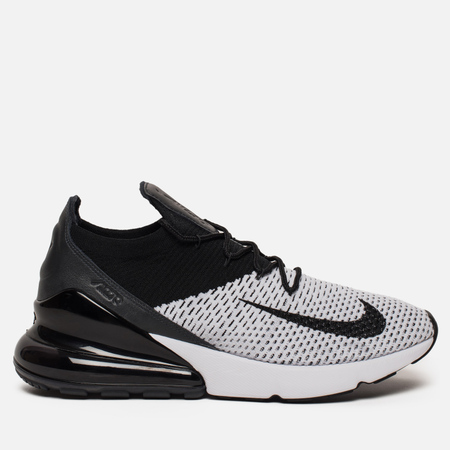 Мужские кроссовки Nike Air Max 270 Flyknit White/Black/Anthracite