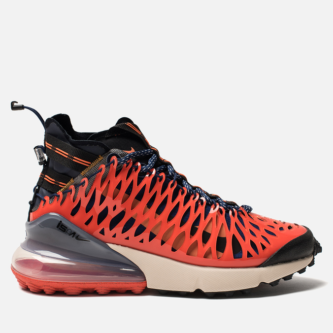 Кроссовки Nike Air Max 270 ISPA Blue Void/Black/Terra Orange/Oatmeal