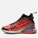 Кроссовки Nike Air Max 270 ISPA Blue Void/Black/Terra Orange/Oatmeal фото- 2