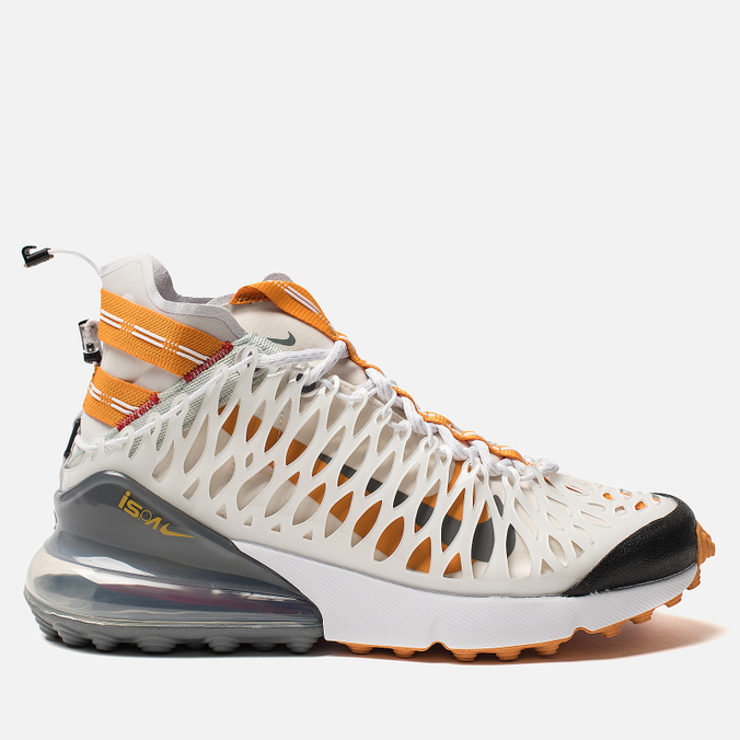 Кроссовки Nike Air Max 270 ISPA White/Ghost Aqua/Amber Rise/Light Crimson