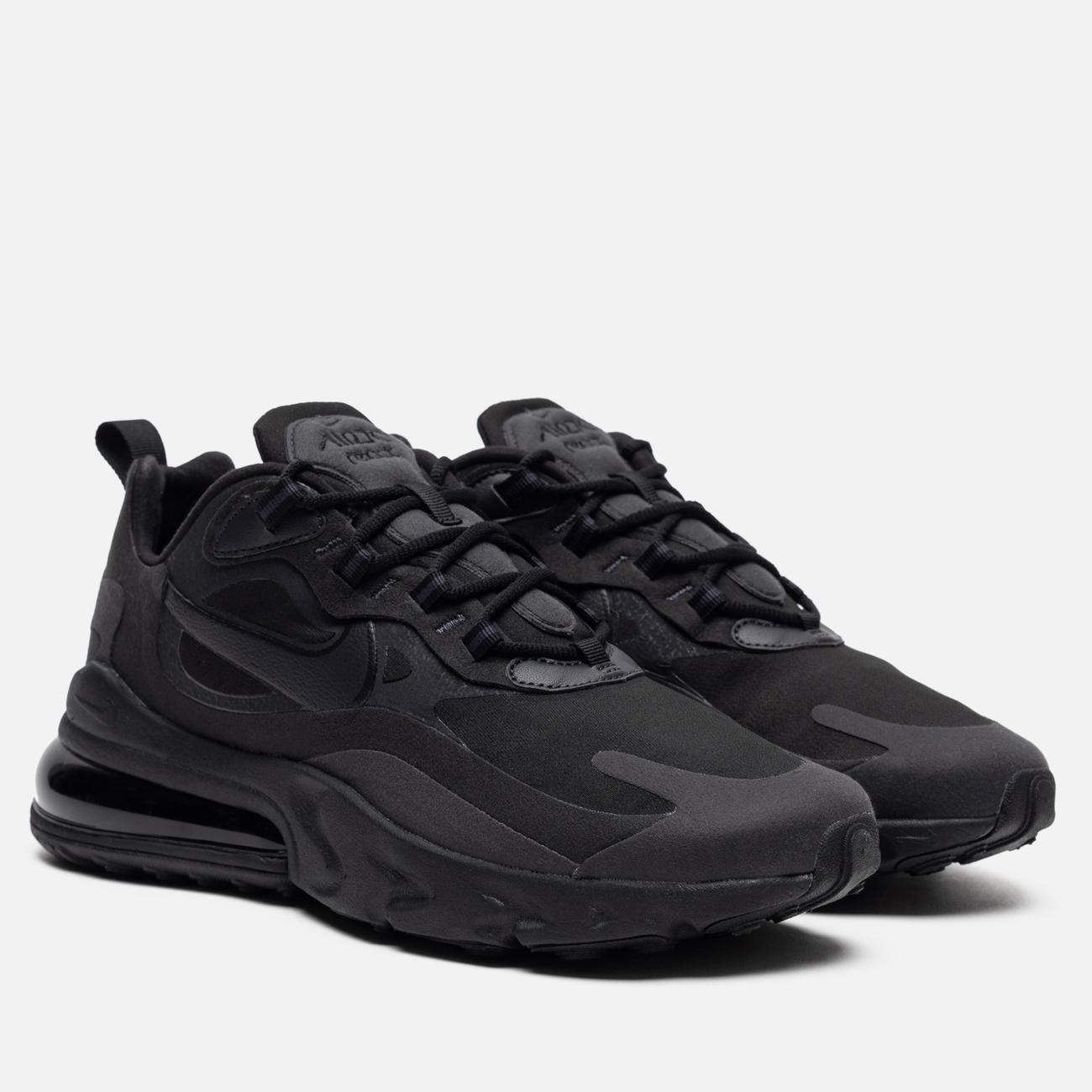 Мужские кроссовки Nike Air Max 270 React Black/Oil Grey/Oil Grey/Black