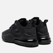 Мужские кроссовки Nike Air Max 270 React Black/Oil Grey/Oil Grey/Black фото- 2