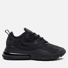 Мужские кроссовки Nike Air Max 270 React Black/Oil Grey/Oil Grey/Black фото- 3