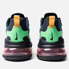 Мужские кроссовки Nike Air Max 270 React Electro Green/Yellow Ochre/Obsidian фото- 2