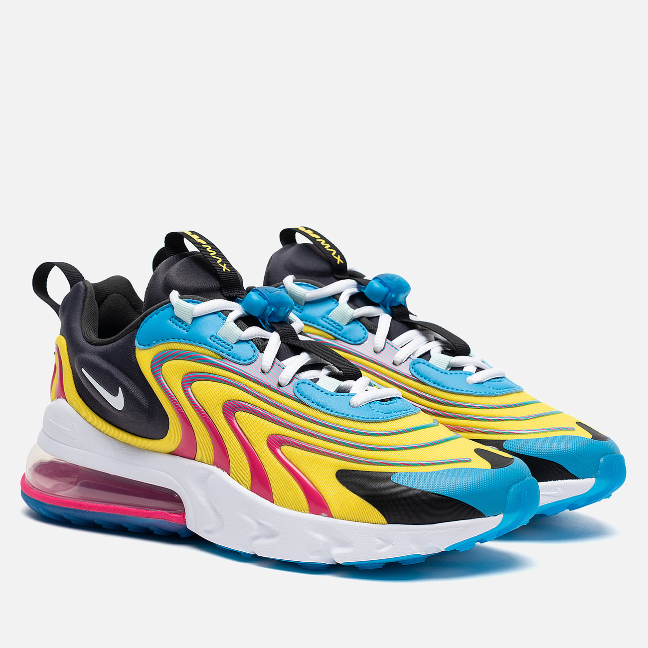 Мужские кроссовки Nike Air Max 270 React ENG Laser Blue/White/Anthracite/Watermelon