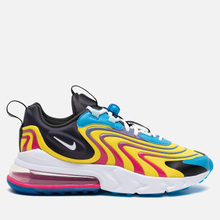 Мужские кроссовки Nike Air Max 270 React ENG Laser Blue/White/Anthracite/Watermelon фото- 3