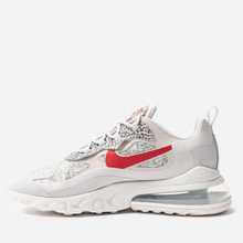 Мужские кроссовки Nike Air Max 270 React Neutral Grey/University Red/Light Graphite фото- 5