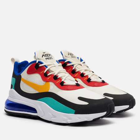 Мужские кроссовки Nike Air Max 270 React Phantom/University Gold/University Red