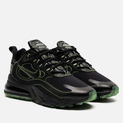 Мужские кроссовки Nike Air Max 270 React SP Black/Black/Electric Green
