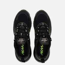 Мужские кроссовки Nike Air Max 270 React SP Black/Black/Electric Green фото- 1
