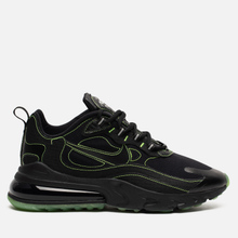 Мужские кроссовки Nike Air Max 270 React SP Black/Black/Electric Green фото- 3