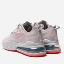 Мужские кроссовки Nike Air Max 270 React SP White/White/Flash Crimson фото- 2