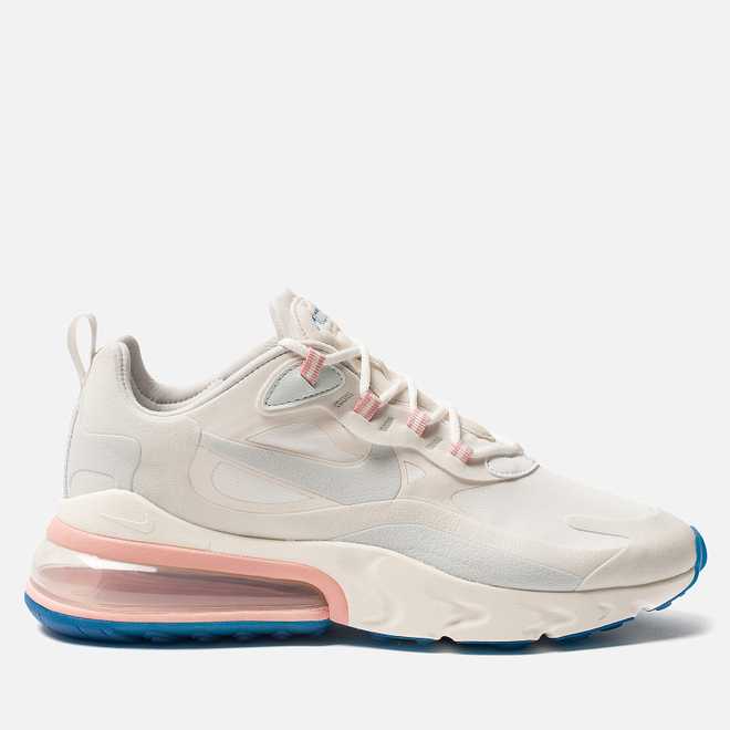 Мужские кроссовки Nike Air Max 270 React Summit White/Ghost Aqua/Phantom