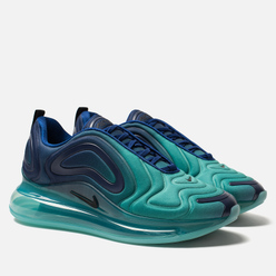 Мужские кроссовки Nike Air Max 720 Deep Royal Blue/Black/Hyper Jade