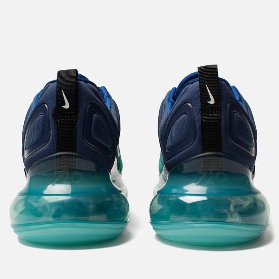Мужские кроссовки Nike Air Max 720 Deep Royal Blue/Black/Hyper Jade