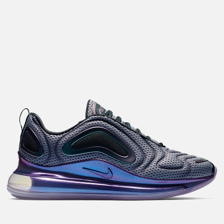 Nike Мужские кроссовки Air Max 720 Metallic Silver Black Metallic Silver edc9f80616a