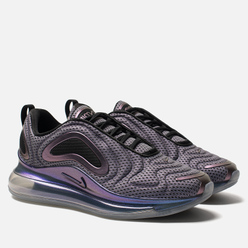 Мужские кроссовки Nike Air Max 720 Metallic Silver/Black/Metallic Silver