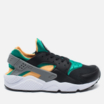 Мужские кроссовки Nike Air Huarache Black/Green/Yellow/White фото- 0