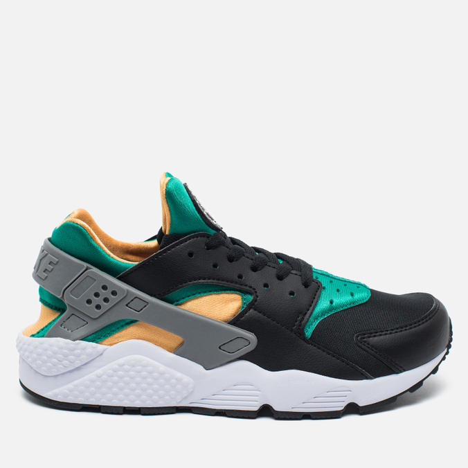 Мужские кроссовки Nike Air Huarache Black/Green/Yellow/White