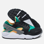 Мужские кроссовки Nike Air Huarache Black/Green/Yellow/White фото- 2